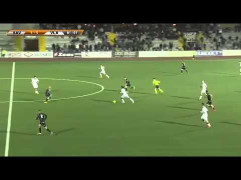 Giacomo Cipriani gol 2-1 contro la Vigor Lamezia