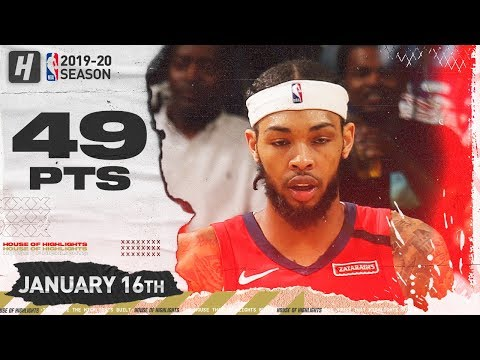 Brandon Ingram drops 49 Pts, 8 Rebs, and 6 Asts in clutch win versus the Utah Jazz