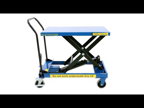 BiGDUG Medium Duty Single Scissor Lift Table Product Video