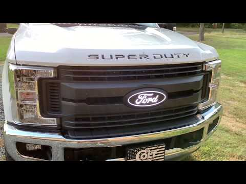 2017-2020 F250 Letter Inserts/hood,tailgate inserts