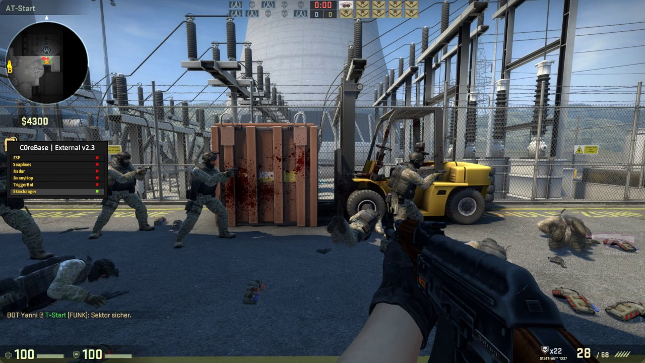 [UNDETECTED] C0reExternal v2 4 CS:GO Cheat (ESP, Triggerbot, Skinchanger,  Bunnyhop) [DOWNLOAD] by C0re
