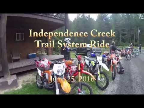 Independence Creek Trail System Ride, June 2016