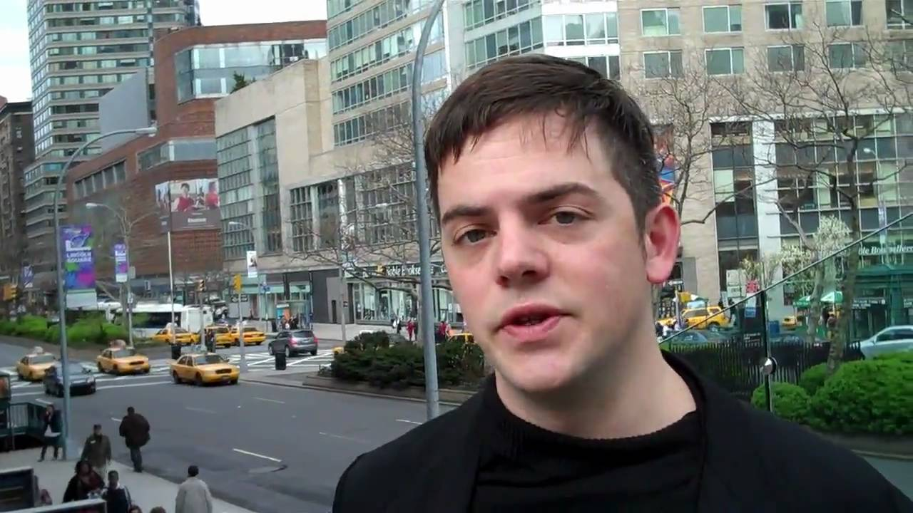 flipCam video 1 of 7: Nico Muhly on CONTACT!
