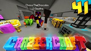"Minecraft Crazier Craft #41 ""SORRY CHOCO!"""