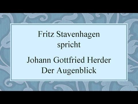 "Johann Gottfried Herder ""Der Augenblick"" II"