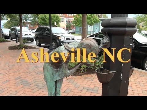 Walking Tour of Asheville NC