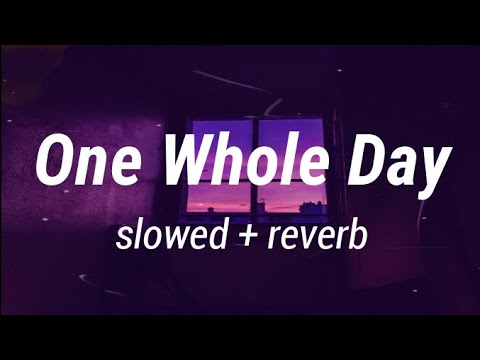 Dixie D' Amelio, Ft.Wiz Khalifa – One Whole Day (Slowed + Reverb) l TikTok Songs ♬ l I was really ☹