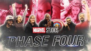 Marvel Phase 4 lineup is STACKED. Official Trailer - Group Reaction