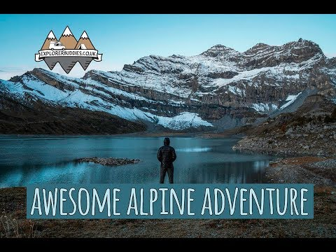 SPECTACULAR Swiss Alps HIKING Trail WILD CAMPING Tour Des Dents-Du-Midi Adventure with Scott Free