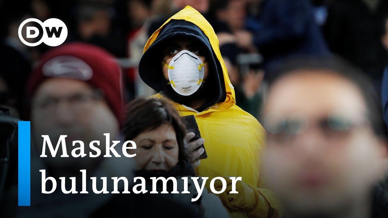 Corona virüs nedeniyle Avrupa'da cerrahi maske kalmadı