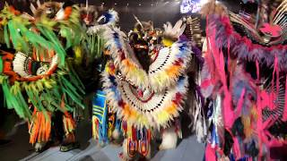 Grand Entry Message POWWOW 35th Annual Gathering Of Nations 2018