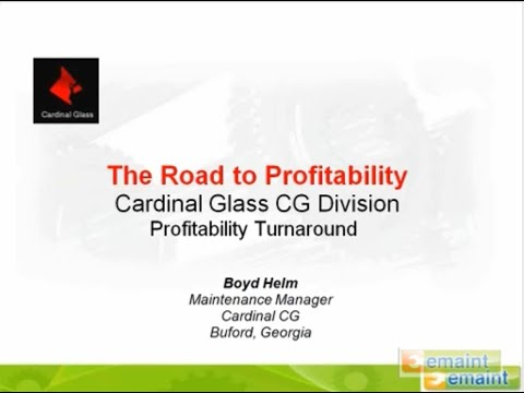 Achieving Profitability Turnaround With A CMMS