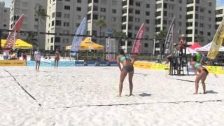 Emily Taylor & Bethany Taylor - Ft. Myers  USAV/Dig The Beach Tournament