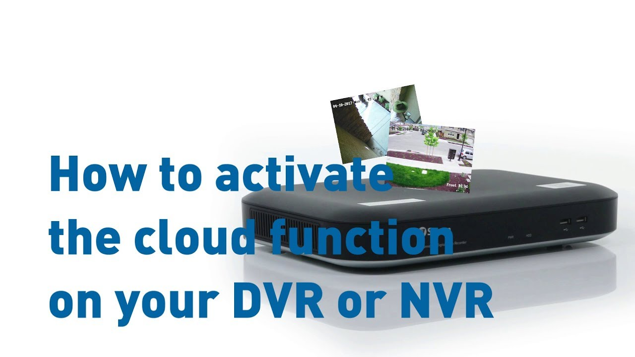 Enabling Cloud Function on Swann DVR or NVR with True Detect thermal  sensing cameras, HomeSafe View