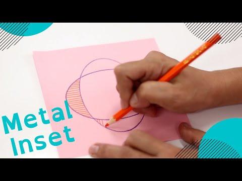 Montessori Presentation : Metal Inset 1 & 2