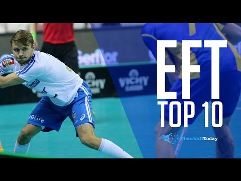 Euro Floorball Tour 2017 Turku Top 10 Goals