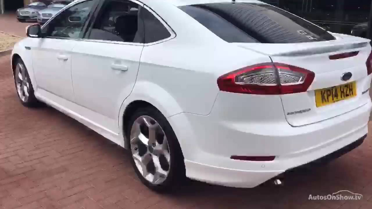ford mondeo titanium x sport tdci white 2014 youtube. Black Bedroom Furniture Sets. Home Design Ideas