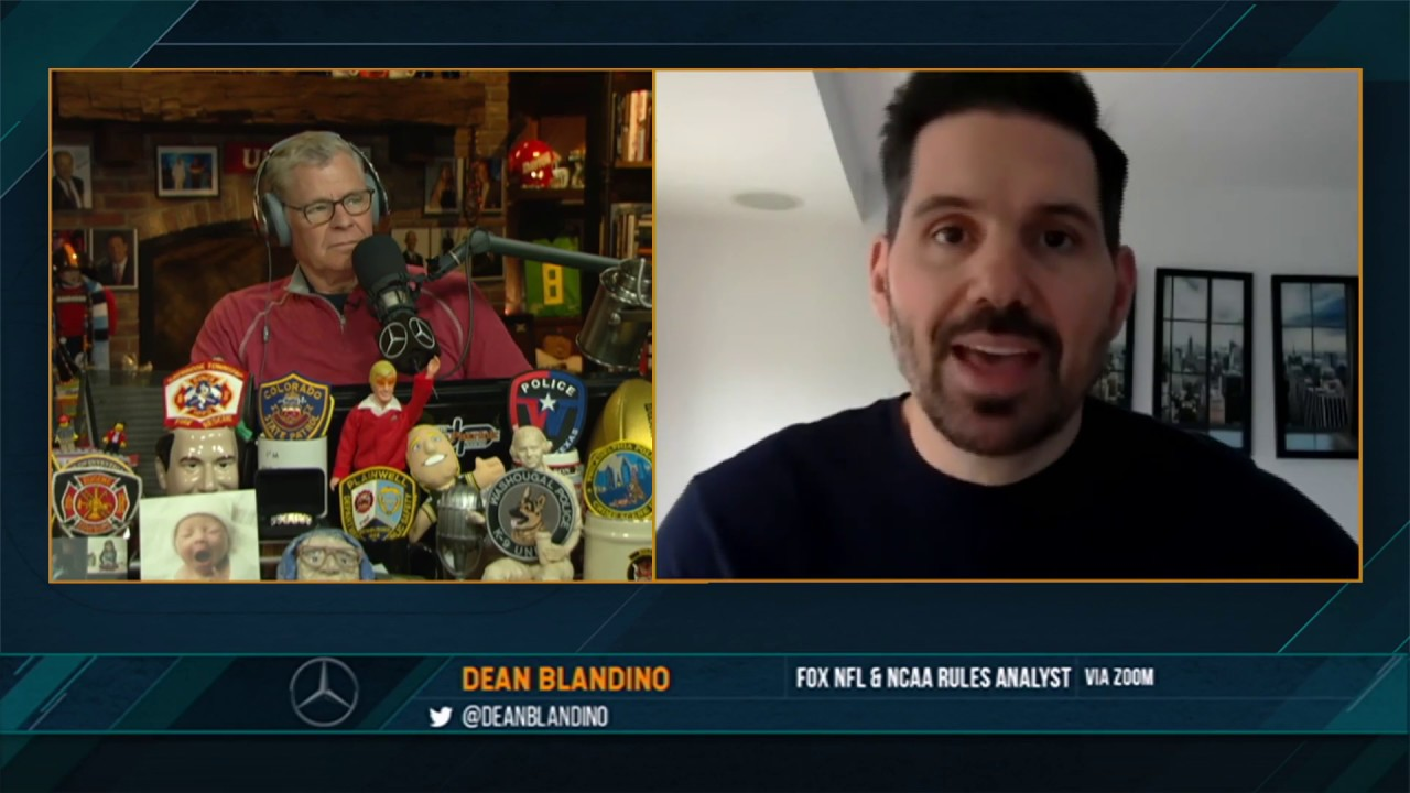 Dean Blandino on the Dan Patrick Show (Full Interview) 05/26/20
