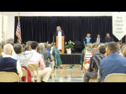 Holy Family Catholic High School Graduation