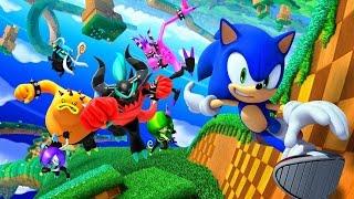 Sonic : Le monde perdu / Le film d'animation complet en francais