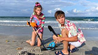 Nastya and Artem found a treasure at sea