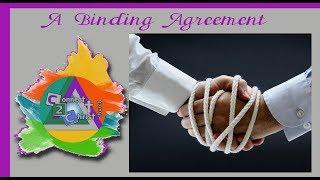 A Binding Agreement