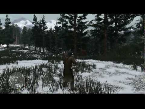 Red Dead Redemption - Knifing A Grizzly Bear Challenge
