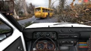 STALKER Lost Alpha   автопарк (топ авто)