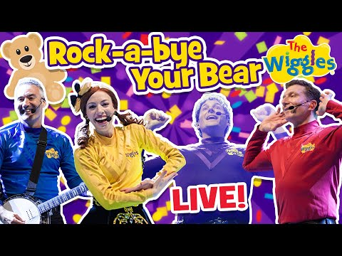 The Wiggles: Rock-a-bye Your Bear (Live)