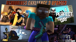Top 5 LateZ Animations from 2016 (Herobrine Challenge Part 3 Updates)