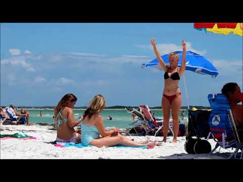 Honeymoon Island State Park - Dunedin Florida USA - June 2017