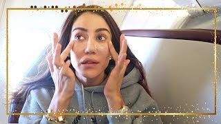 Long Haul Flight Routine #Vlogmas 18