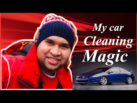 HOW TO CLEAN CAR HEADLIGHT BAKING SODA TOOTHPASTE
