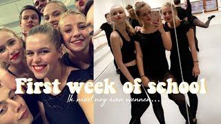Eerste schoolweek Muziektheater ☆ WEEKVLOG No. 163