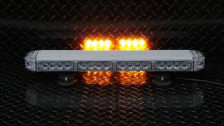 condor tir emergency 3 watt led light bar 23in