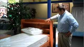 Captain's Bed,  Mattress  &  6 Drawer Chest Special