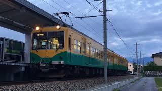 富山地方鉄道14760系第4編成 新黒部発車