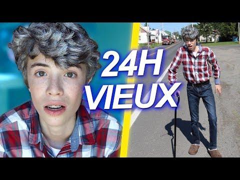 VIVRE COMME UN VIEUX PENDANT 24H