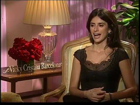 Penelope Cruz interview for Vicky Cristina Barcelona in HD