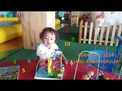 Berhitung 1234 - Lagu Anak Populer - Fun Indoor Playground For Kids