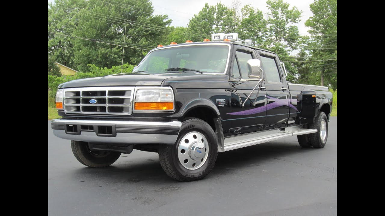 1997 ford f 350 xlt dually 7 3l powerstroke cleanest around sold youtube
