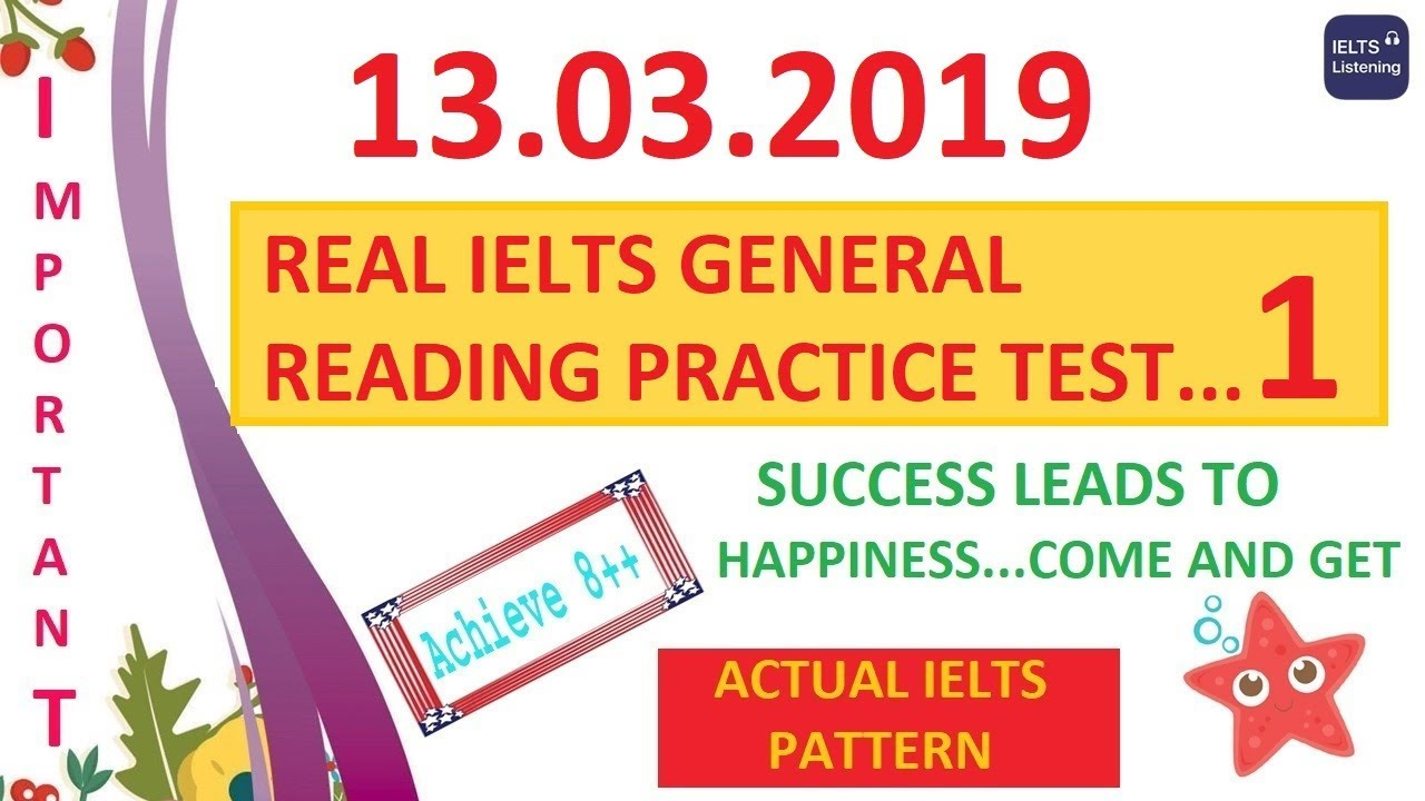 free ielts academic reading practice test