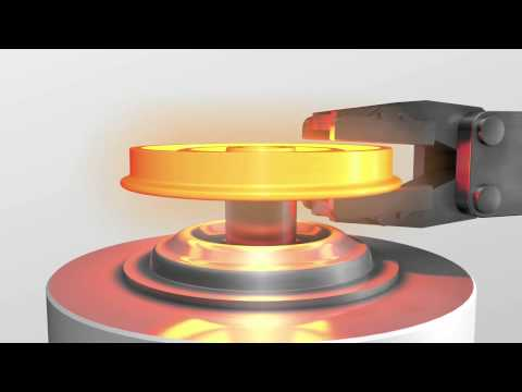 How a train wheel is made - Sandvik Coromant