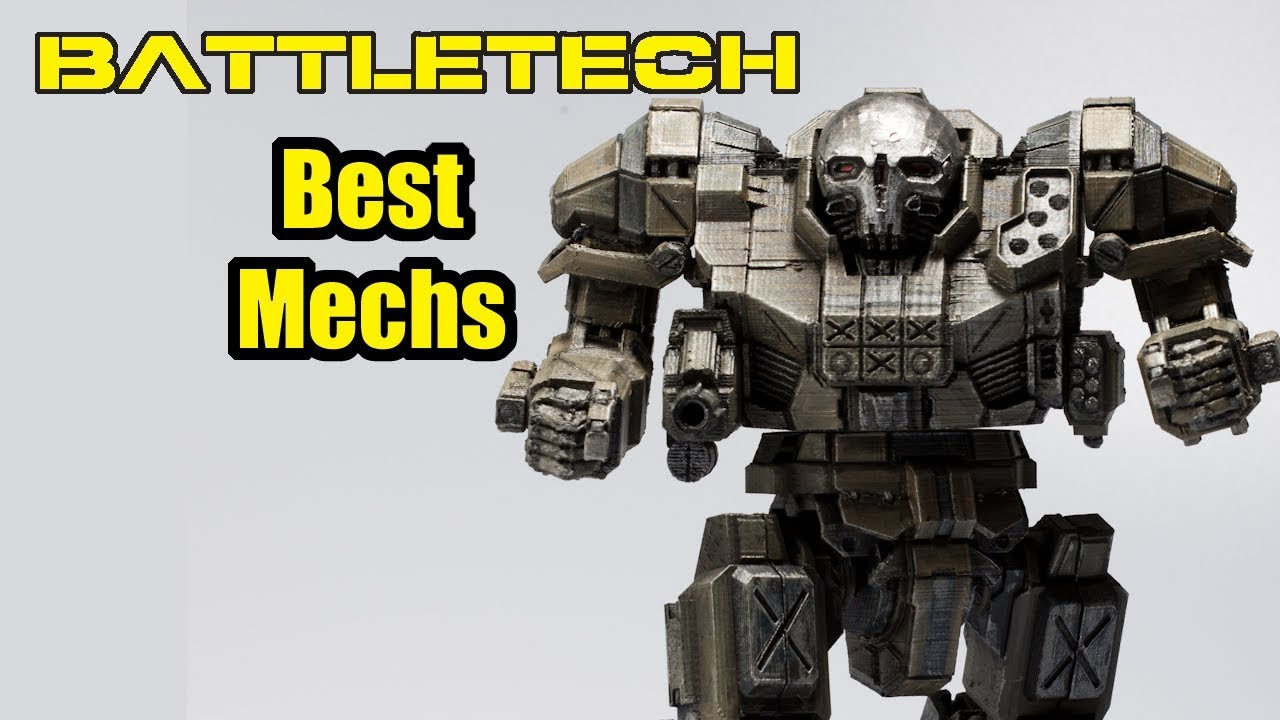 The Best Mechs in Battletech – Battletech Mech Building Guide [pt.2]