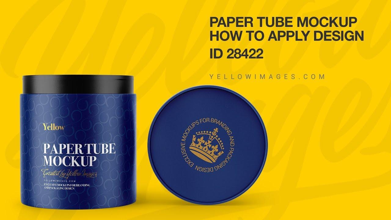 Free PSD-mockups | Wooden&Paper Tubes on Behance