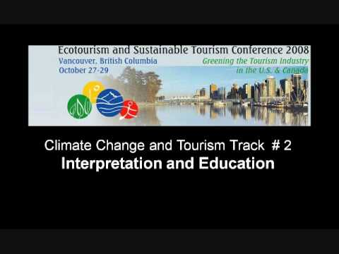 Webinar: Climate Change and Tourism