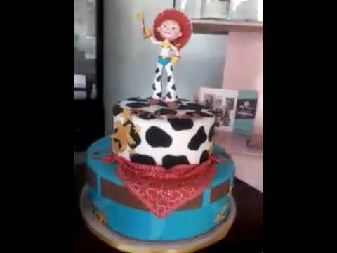 Pastel De Fondant Vaquerita Jessy Youtube