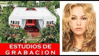 ¡PAULINA RUBIO ESTRENA ESTUDIOS DE GRABACION!