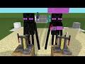 Monster School: Scaring, Hunting, Cooking, Slackline Challenge - Minecraft Animation