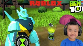 OFFICIAL BEN 10 Roblox Game HEX'S Nightmare Level CKN Gaming
